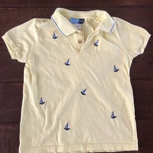 Other - Sz 6  w/embroidered sailboats very small stain